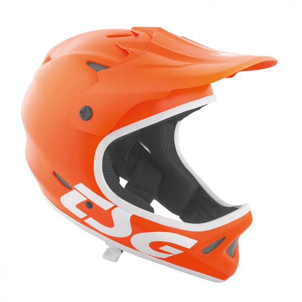 ExtremeZone Cycles Casco TSG Staten Junior integral Naranjo XS