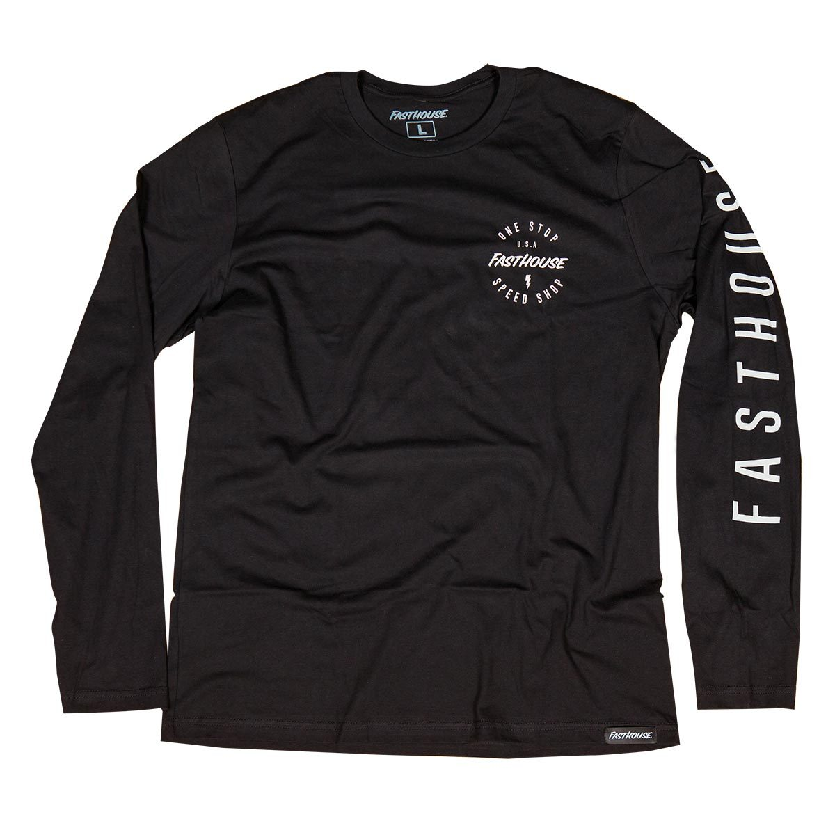 ExtremeZone Cycles Polera Fasthouse Simple LS black XL