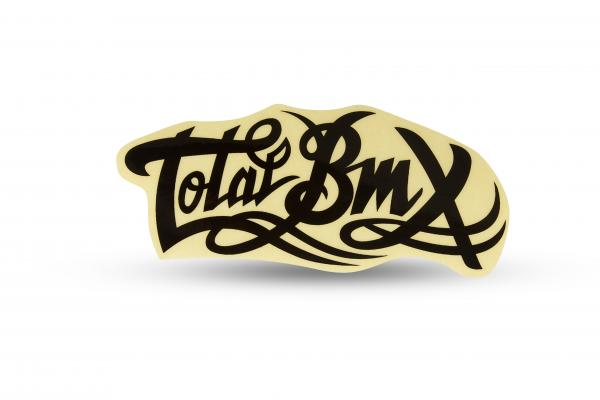 ExtremeZone Cycles Sticker TOTALBMX Negro small