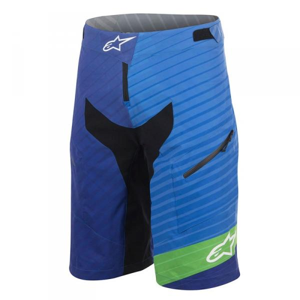 ExtremeZone Cycles Short Alpinestars Depth Blue/Green 30